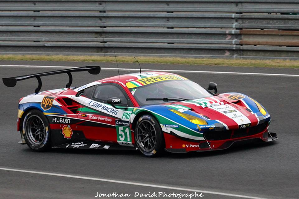 2016 ferrari 488 gte ferrari (3.900 cc.) (t) gianmaria bruni james